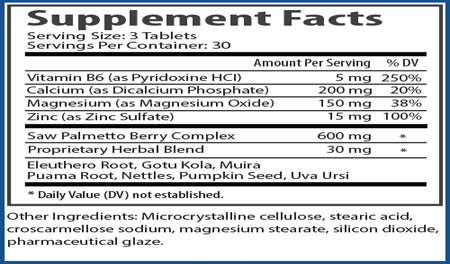 Procerin Supplement Facts